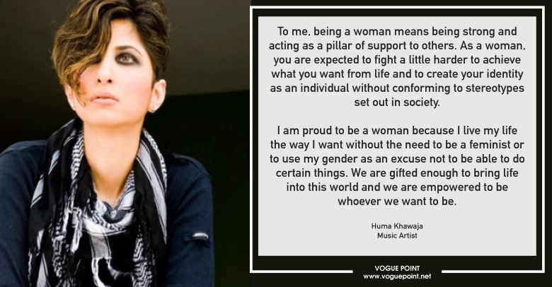 What Does Being A Woman Mean To You Vogue Point
